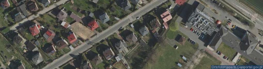 Zdjęcie satelitarne Szpitalna ul.