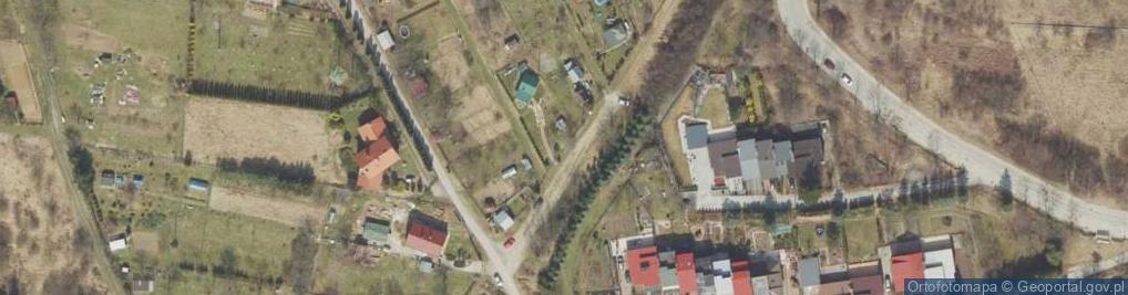 Zdjęcie satelitarne Szańce ul.