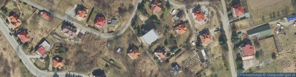 Zdjęcie satelitarne Szwoleżerska ul.