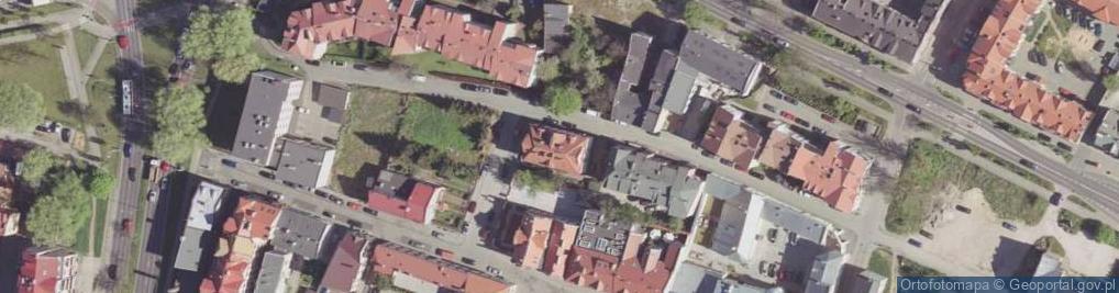 Zdjęcie satelitarne Szwarlikowska ul.