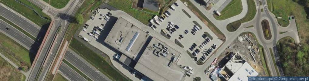 Zdjęcie satelitarne Szyb Barbary ul.