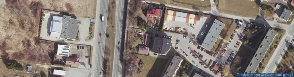 Zdjęcie satelitarne Szarych Szeregów ul.