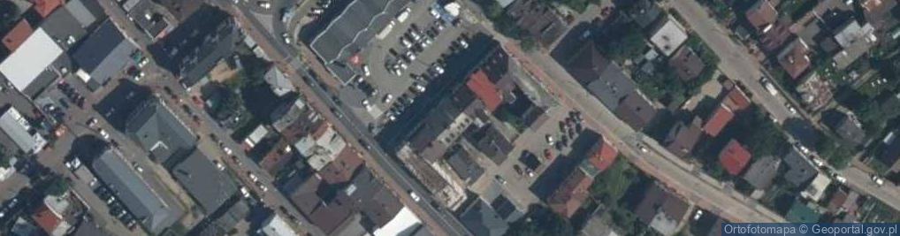 Zdjęcie satelitarne Szewski Rynek ul.