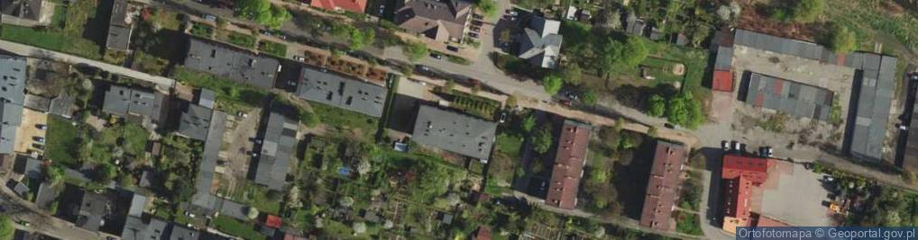 Zdjęcie satelitarne Szpaków ul.