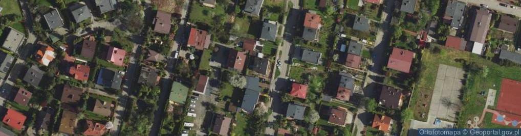 Zdjęcie satelitarne Szeroki Łan ul.
