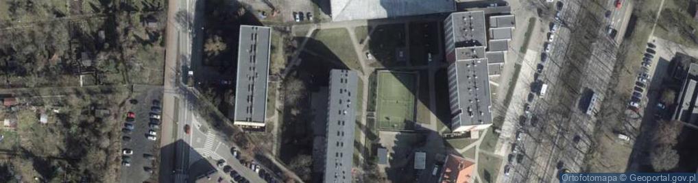 Zdjęcie satelitarne Szwoleżerów ul.