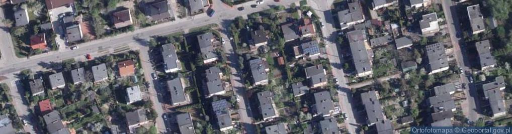Zdjęcie satelitarne Szafranowa ul.
