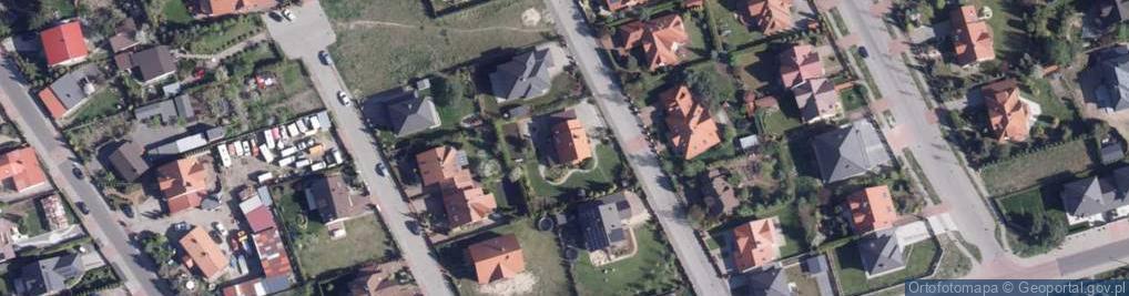 Zdjęcie satelitarne Szałwiowa ul.