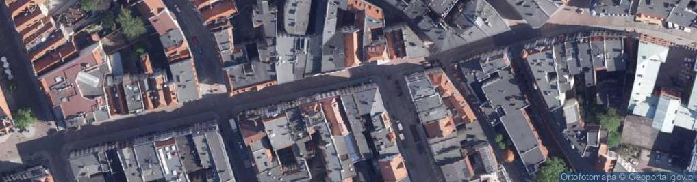 Zdjęcie satelitarne Szeroka ul.