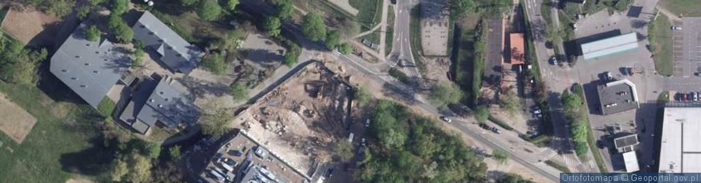 Zdjęcie satelitarne Szosa Bydgoska ul.