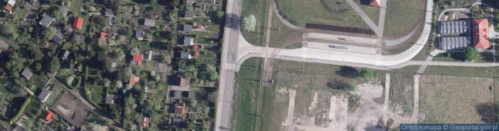 Zdjęcie satelitarne Szosa Okrężna ul.