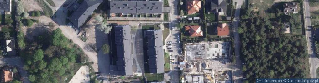 Zdjęcie satelitarne Szuwarów ul.