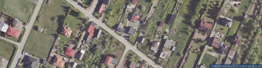 Zdjęcie satelitarne Szafirowa ul.