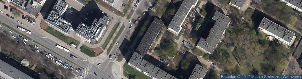 Zdjęcie satelitarne Szczęśliwicka ul.