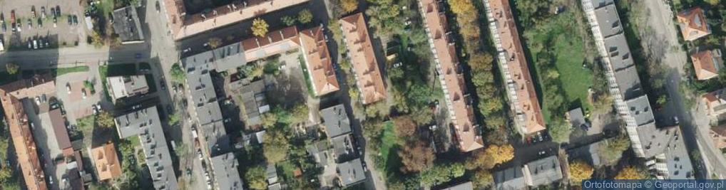 Zdjęcie satelitarne Szczepaniakowej Stefanii ul.