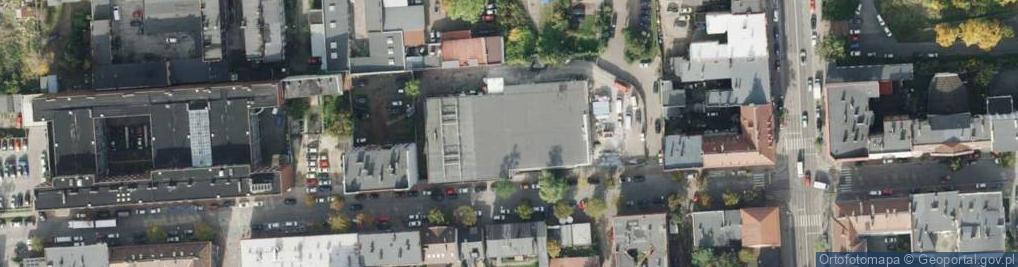Zdjęcie satelitarne Szczęść Boże ul.