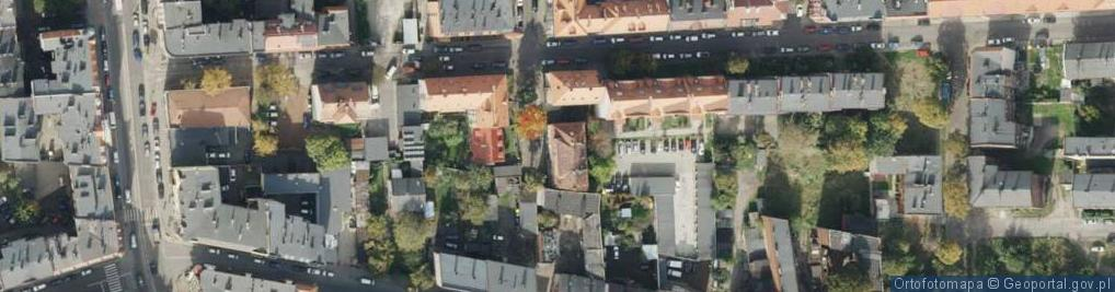 Zdjęcie satelitarne Szramka, ks. dr. ul.