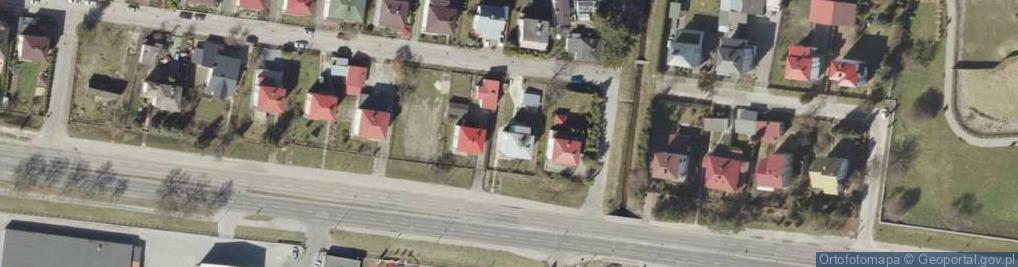 Zdjęcie satelitarne Szczebrzeska ul.