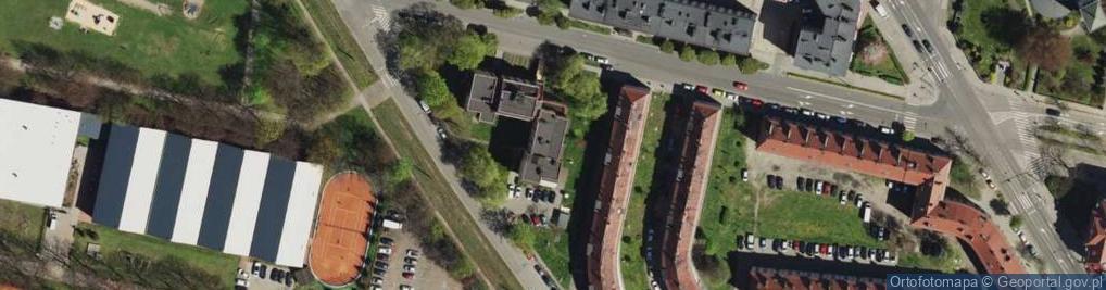 Zdjęcie satelitarne Tarnogórska ul.