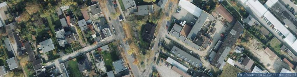 Zdjęcie satelitarne Tartakowa ul.