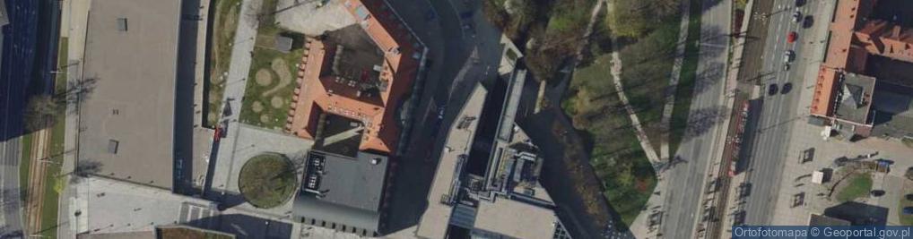 Zdjęcie satelitarne Targ Rakowy ul.