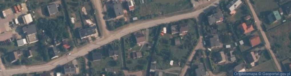 Zdjęcie satelitarne Tartaczna ul.