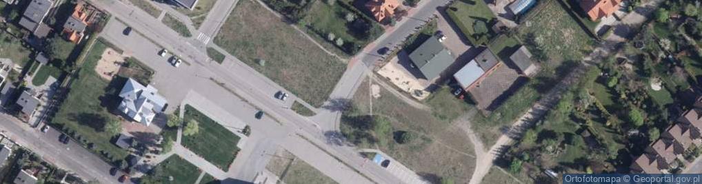 Zdjęcie satelitarne Tarnobrzeska ul.