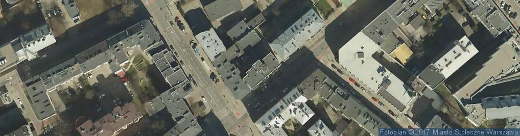 Zdjęcie satelitarne Tamka ul.