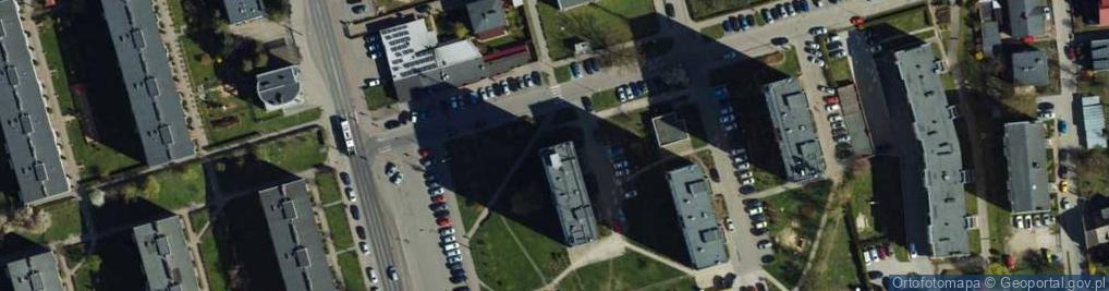 Zdjęcie satelitarne Tczewska ul.