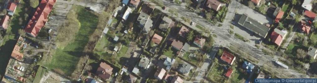 Zdjęcie satelitarne Tęczowa ul.