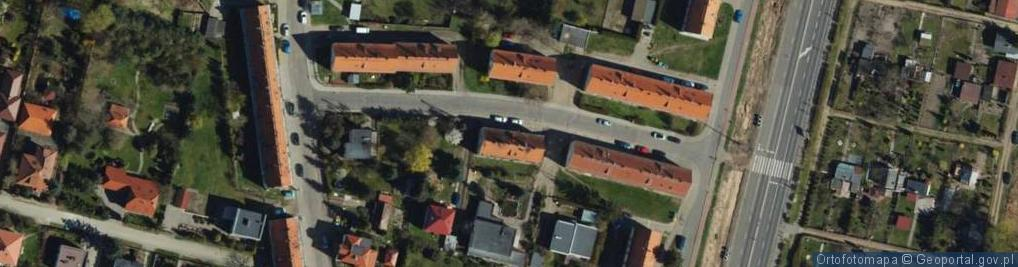 Zdjęcie satelitarne Tetmajera ul.