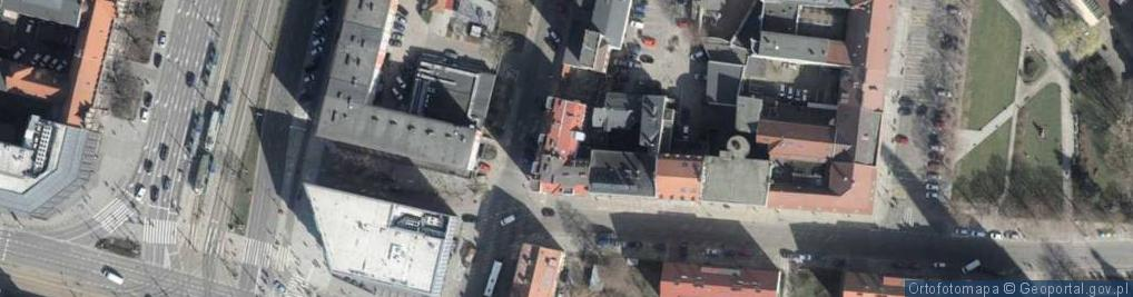 Zdjęcie satelitarne Tkacka ul.