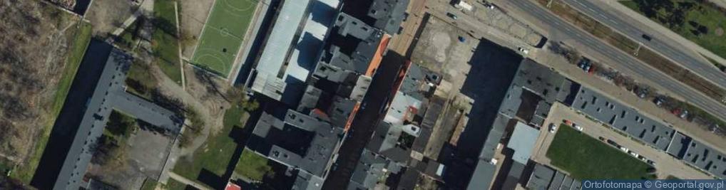 Zdjęcie satelitarne Toruńska ul.