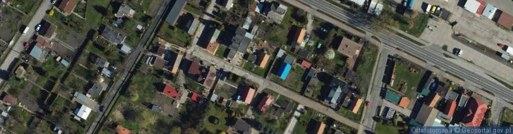 Zdjęcie satelitarne Towarzystwa Jaszczurczego ul.