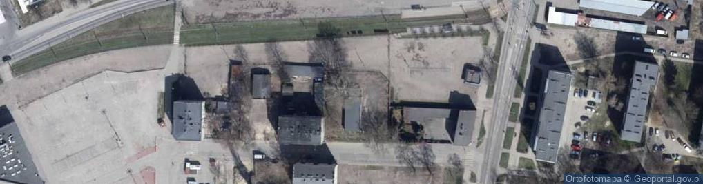 Zdjęcie satelitarne Tokarska ul.