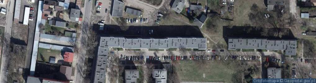 Zdjęcie satelitarne Tokarzewskiego ul.
