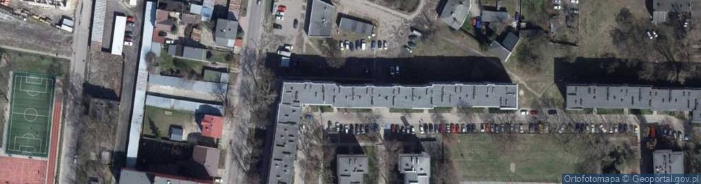 Zdjęcie satelitarne Tokarzewskiego Michała, gen. ul.