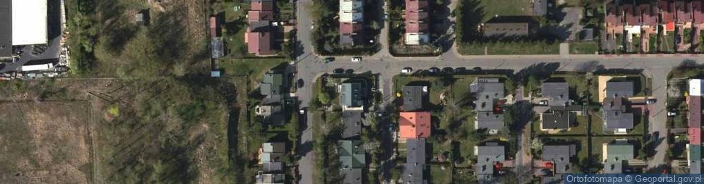 Zdjęcie satelitarne Topazowa ul.