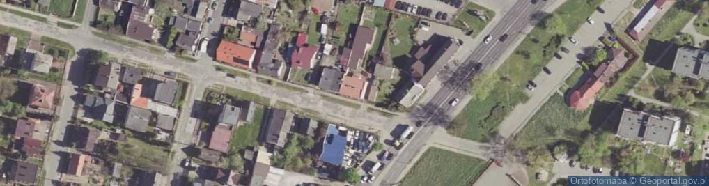 Zdjęcie satelitarne Topiel ul.