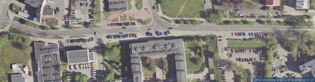Zdjęcie satelitarne Tochtermana Adolfa ul.