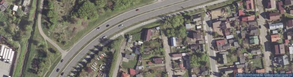 Zdjęcie satelitarne Torfowa ul.