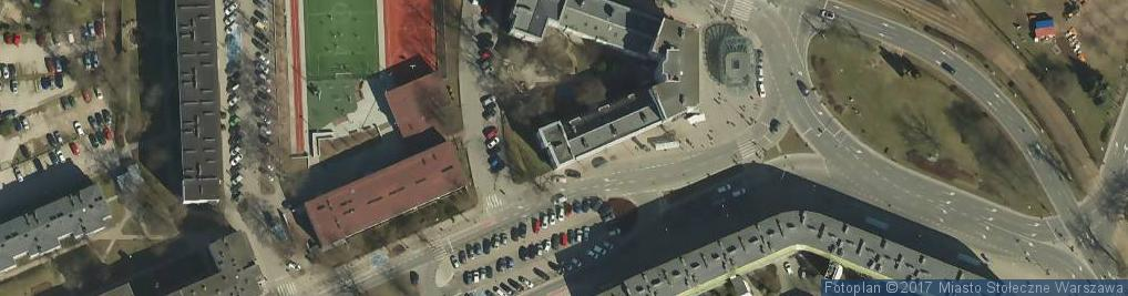 Zdjęcie satelitarne Toeplitza Teodora ul.