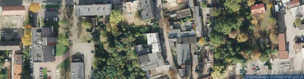 Zdjęcie satelitarne Torowa ul.