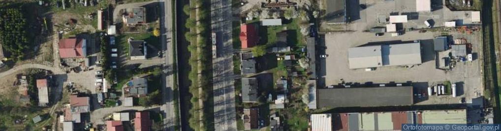 Zdjęcie satelitarne Trakt Świętego Wojciecha ul.