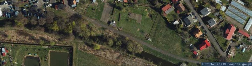 Zdjęcie satelitarne Trynkowa ul.