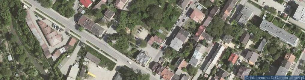Zdjęcie satelitarne Trębacza Piotra ul.