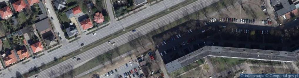 Zdjęcie satelitarne Trenknera Henryka, dr. ul.