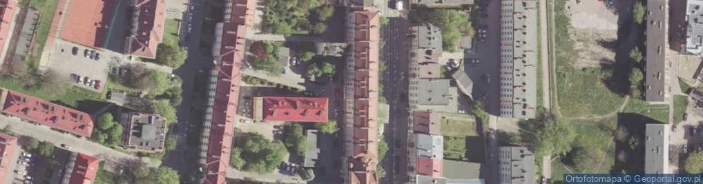 Zdjęcie satelitarne Traugutta Romualda, gen. ul.