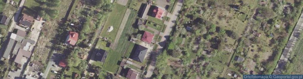 Zdjęcie satelitarne Traktorzystów ul.