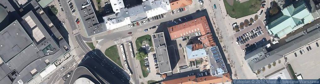 Zdjęcie satelitarne Trębacka ul.